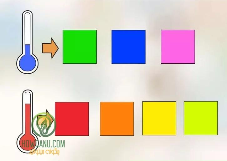 انتخاب بهترین رنگ