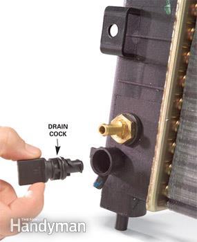 تعویض آب رادیاتور خودرو