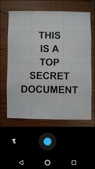 اسکن عکس یا اسناد با موبایل