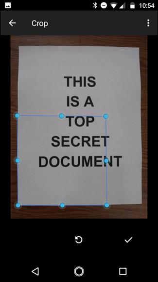 اسکن عکس یا اسناد با آیفون