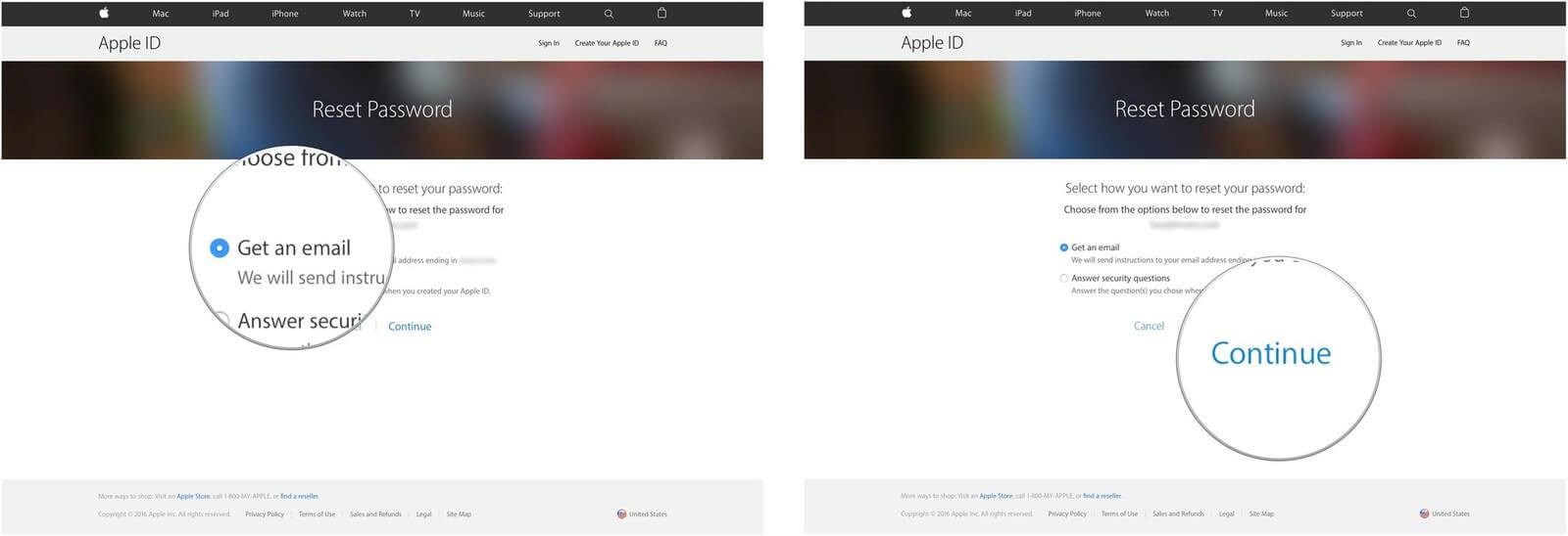 نحوه تغییر دادن اپل آی دی آیفون و مک بوک